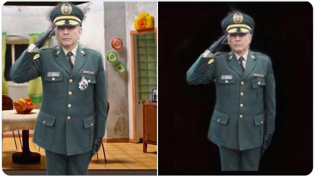 Militar condecorado / Militar Sindecorado