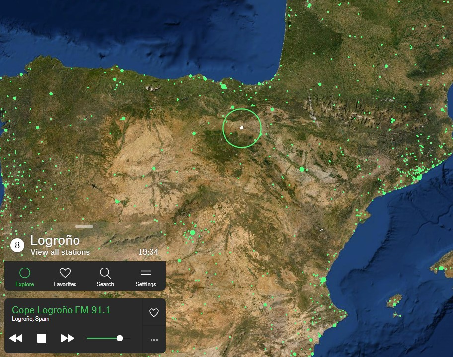 El Google Earth de las emisoras de radio