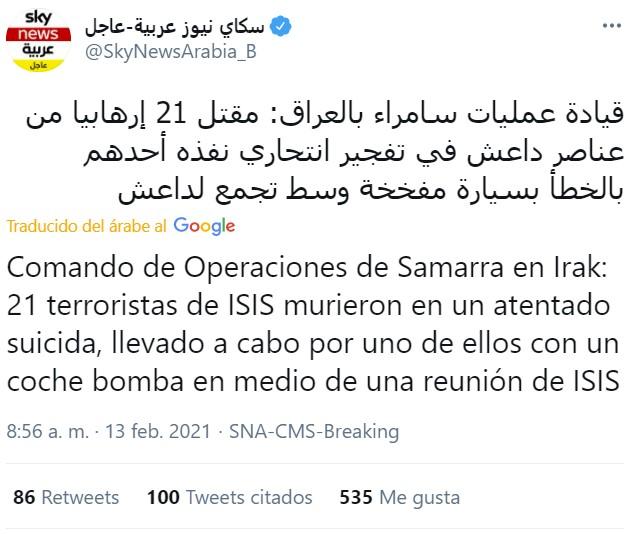 Era su primerito día: 21 terroristas se convierten en Chocapic por autodetonarse durante una reunión de ISIS