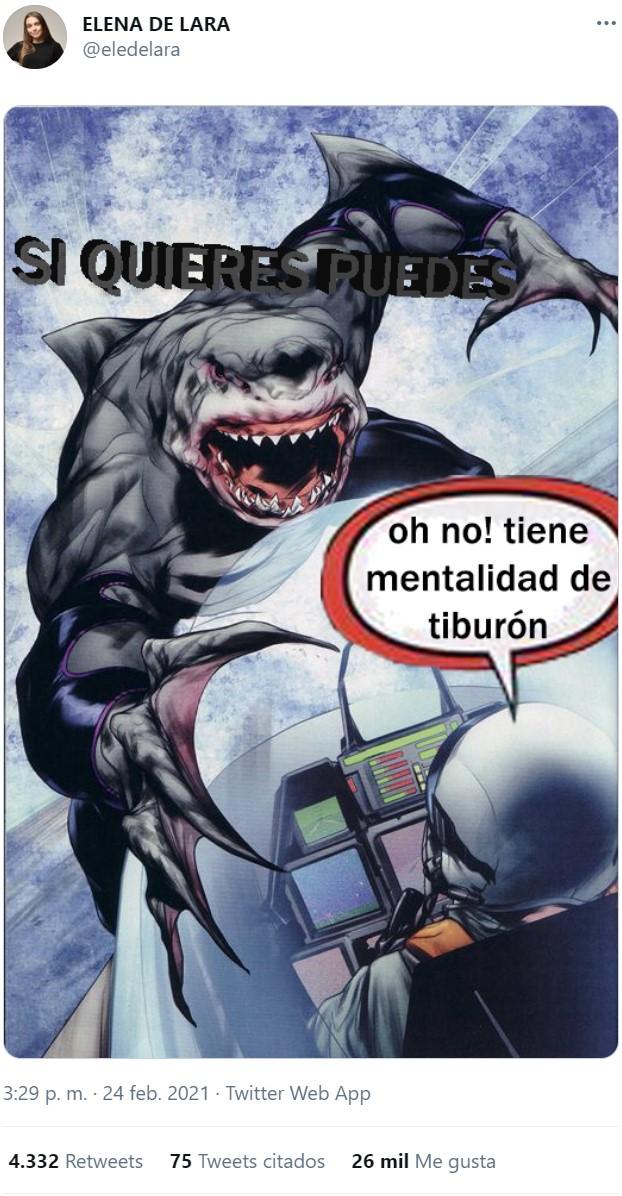 Mentalidad de tiburón vs mentalidad de pobreza
