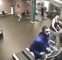 Y ese fue el último día que se le vio por el gimnasio...