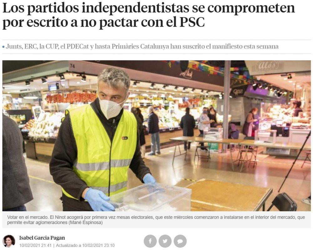 """Los políticos españoles son tan conscientes de que su programa electoral y sus promesas no valen nada, que tienen que hacer estos paripés """"por escrito"""" para intentar que la gente les crea"""