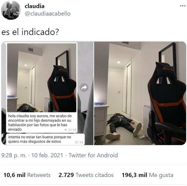 Claudia... cásate con él