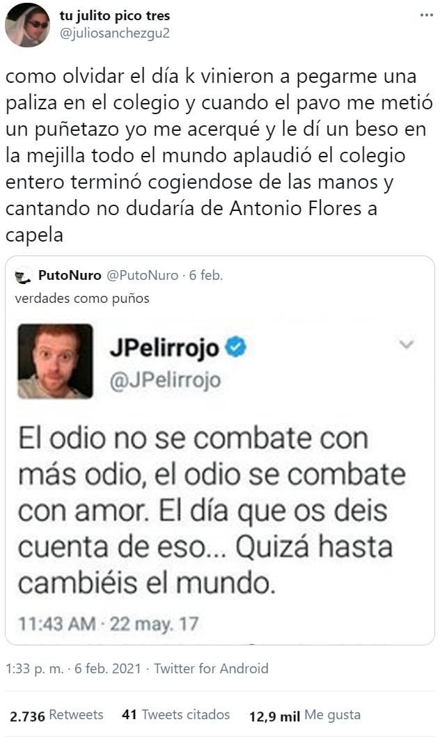 JPelirrojo, embajador del país de la piruleta