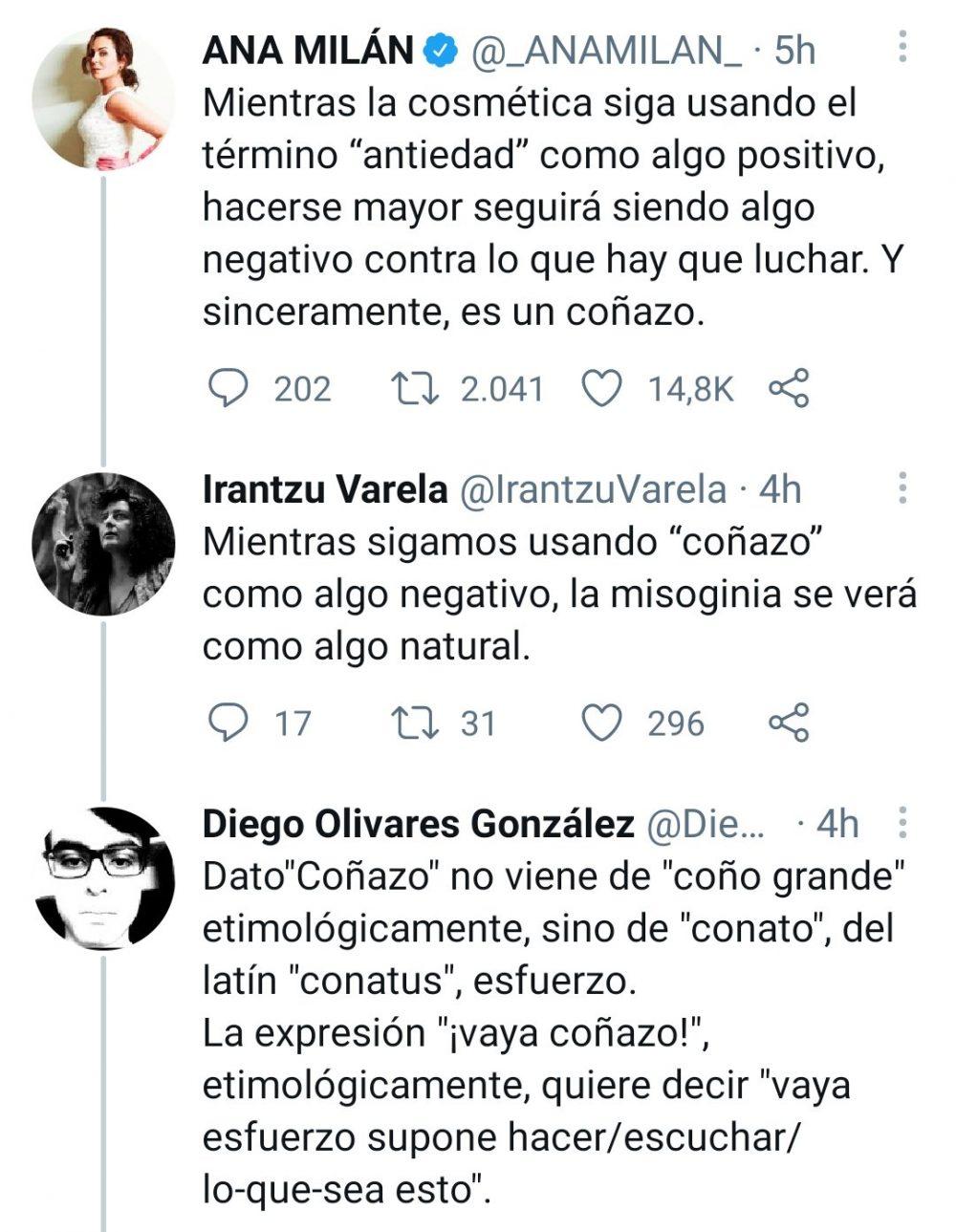 Nunca está de más un zasca a Irantzu Varela