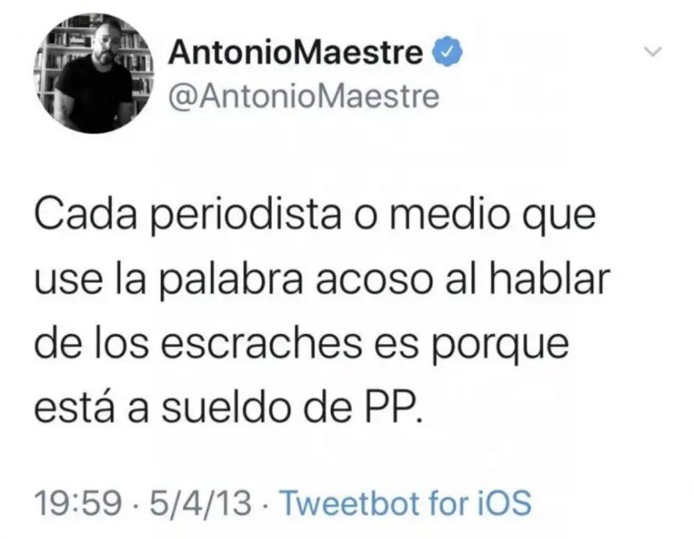 Antonio Maestre nos da pistas de con quién usa las rodilleras