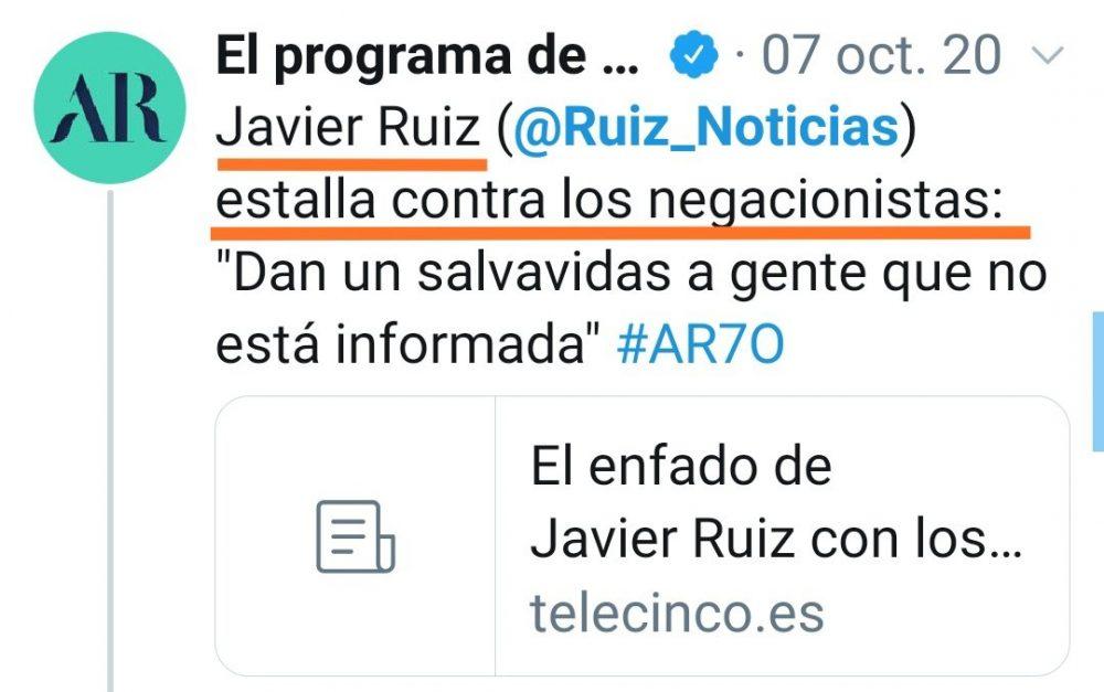 Y a ti... ¿Qué Javier Ruíz te gusta más?