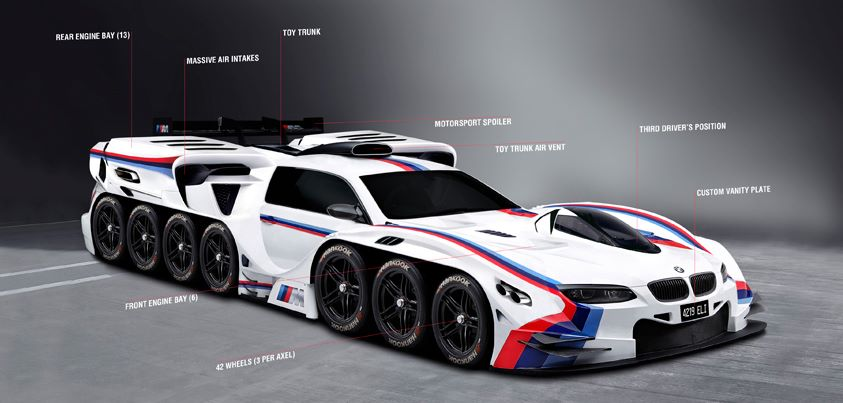 """Cuando BMW hizo """"realidad"""" el diseño loco de un niño de 4 años"""