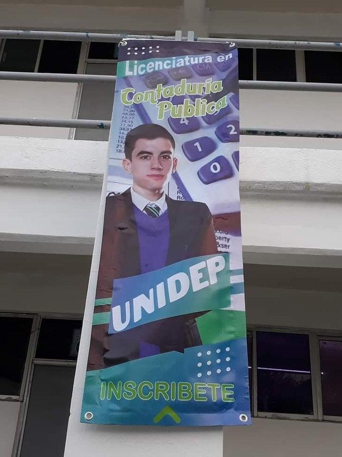Universidad mexicana utiliza por error la foto de Jordi el 'Niño PoIIa' para promocionar sus clases