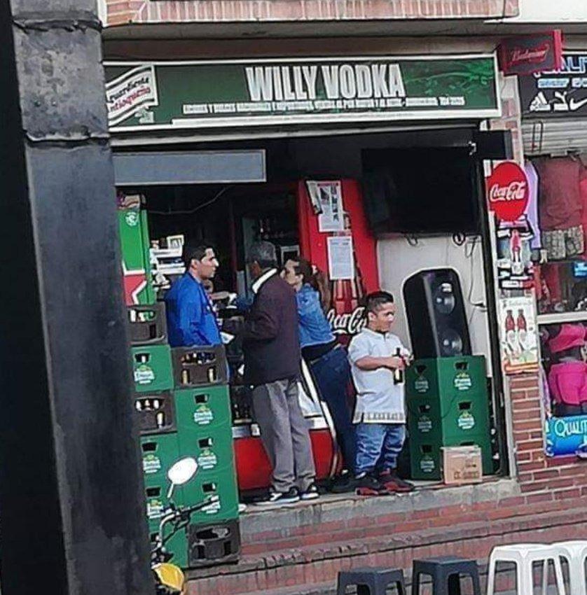 Willy Vodka y la fábrica de emborracharte