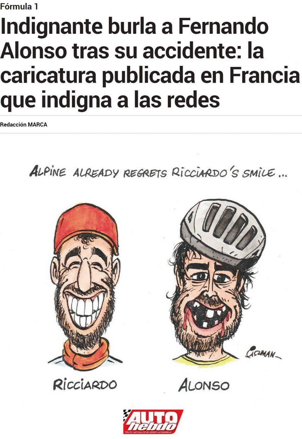 """""""Alpine ya echa de menos la sonrisa de Ricciardo..."""""""