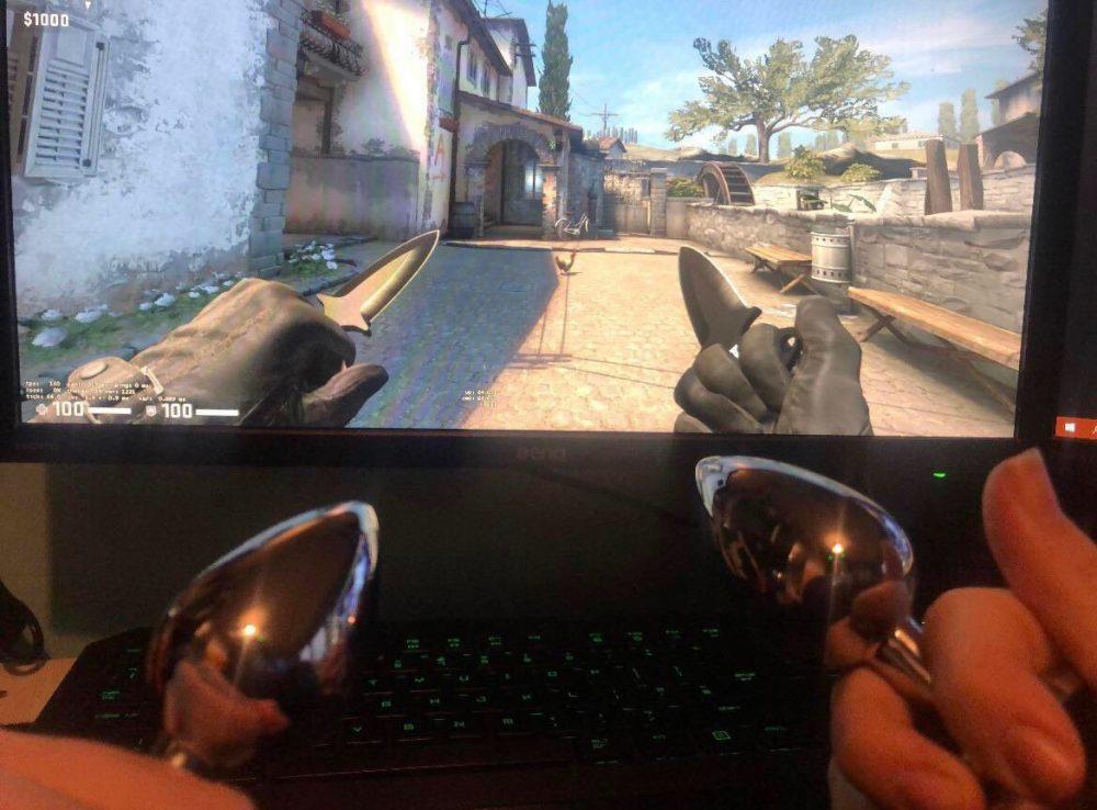 """""""Qué os parecen mis cuchillos del CS:GO"""""""