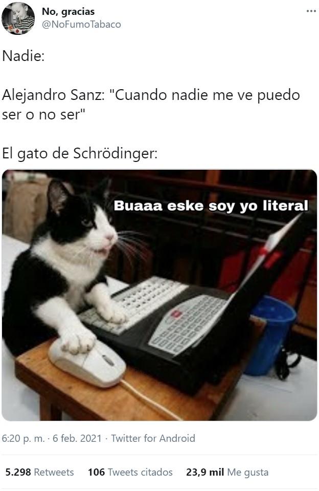 Alejandro Sanz existencialista