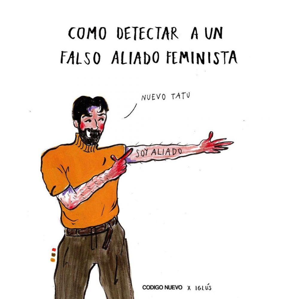 Guía del buen aliado feminista según la revista Código Nuevo