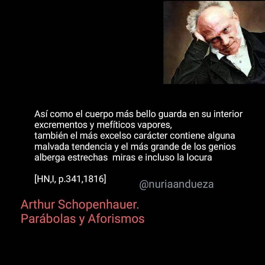 Schopenhauer era un agorer