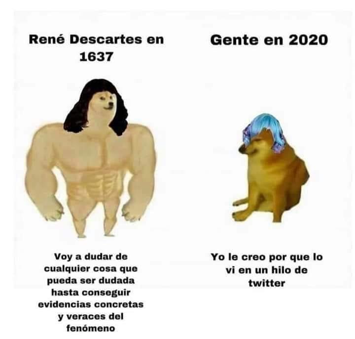 Tanto avance filosófico para que en 2021 la gente crea en el horóscopo...