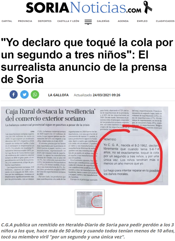 Mientras tanto, en Soria...