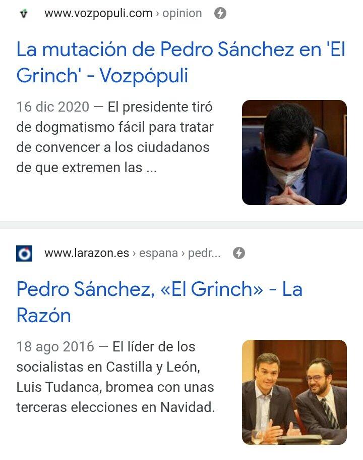 PDRO SNCH es... EL GRINCH