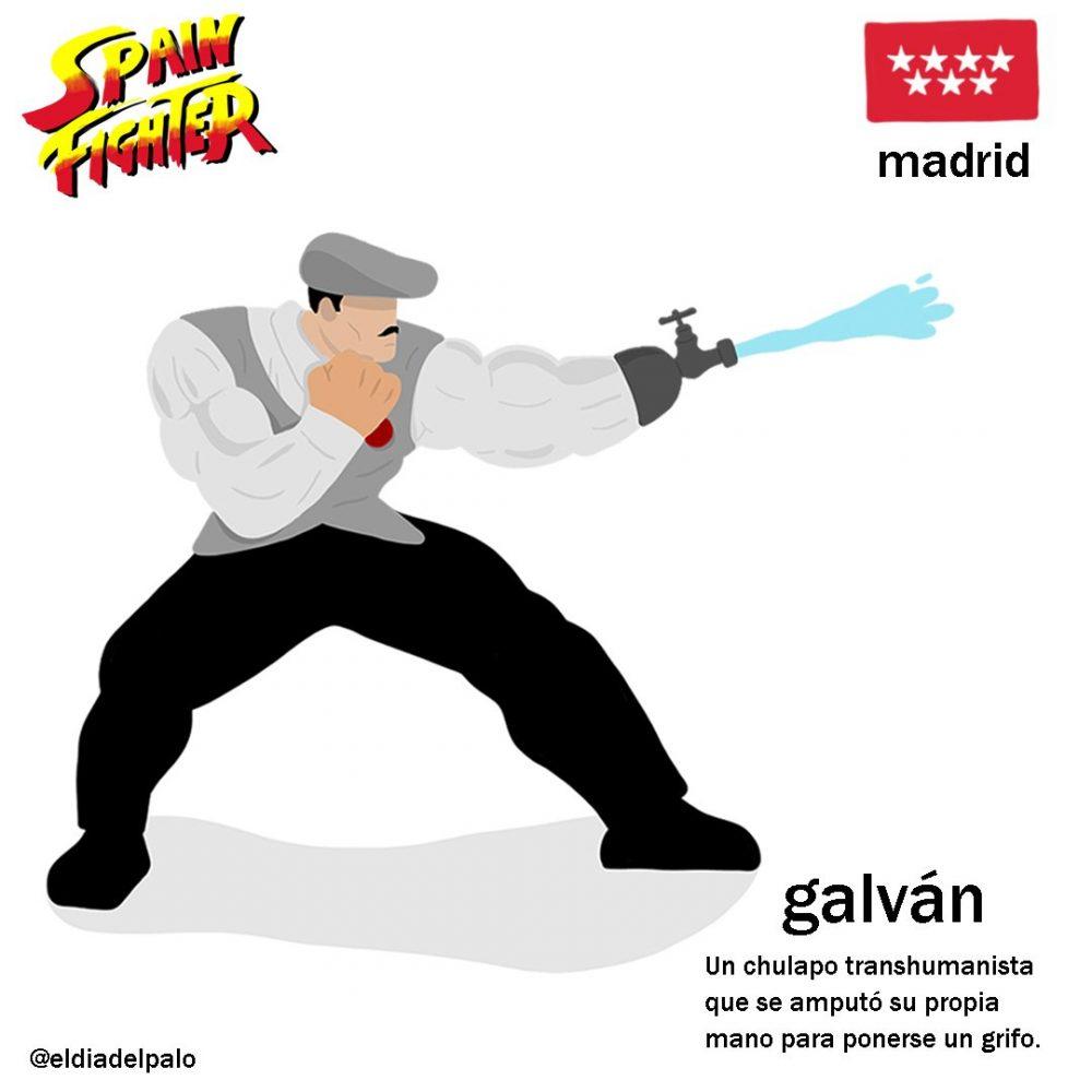 Spain Fighter: Así serían los personajes de un juego de lucha 100% español