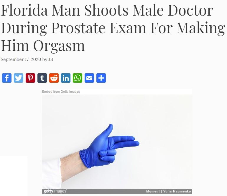 Dispara a su urólogo por hacerle tener un оrgаsmо durante un examen de próstata