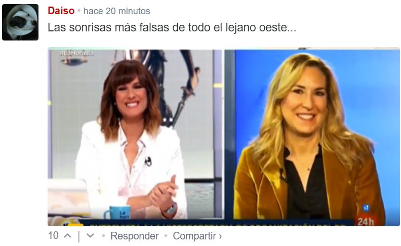 """El """"periodismo"""" español resumido en 49 segundos."""