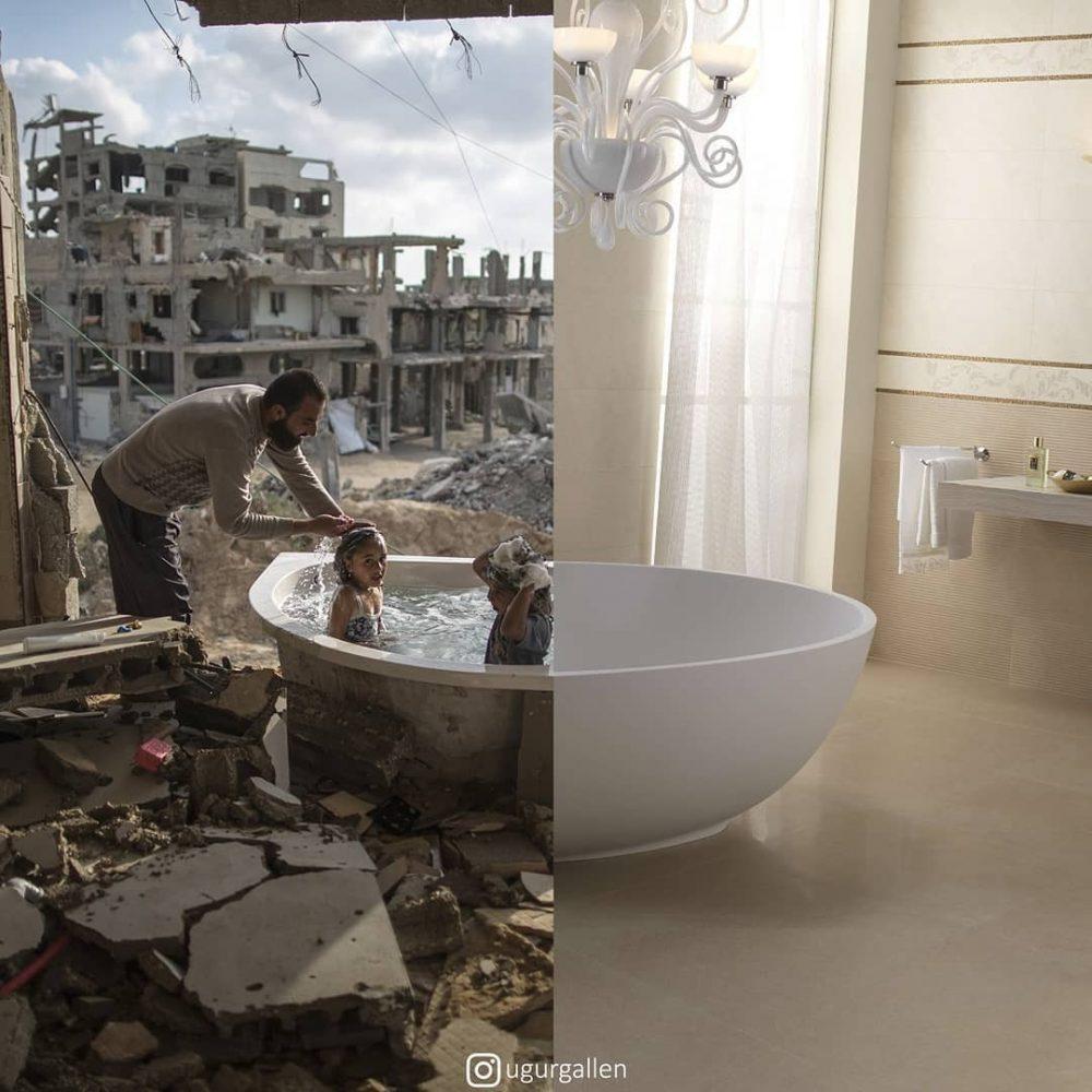 Uğur Gallenkuş: el especialista en mezclar dos fotos y remover conciencias