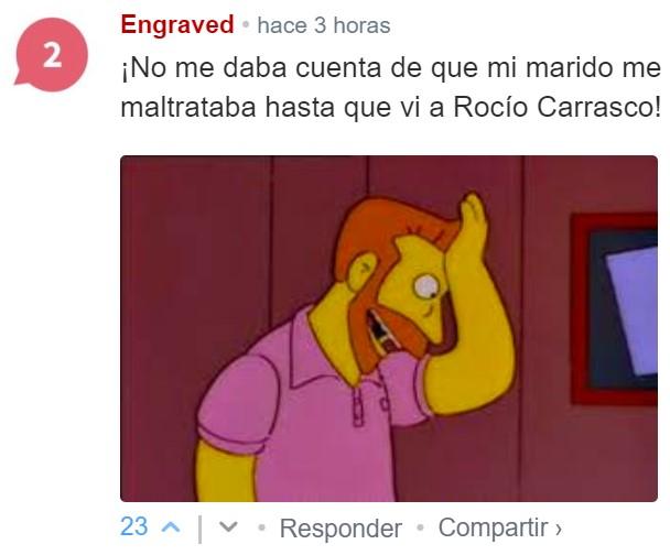 Rocío, deja ya de llamar pls...