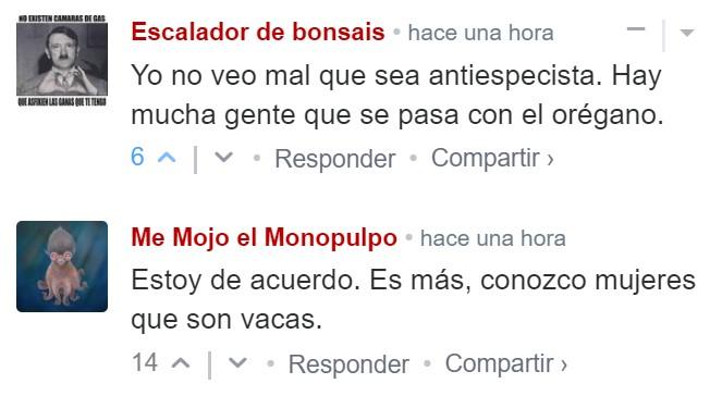 """""""Las vacas son mujeres"""""""