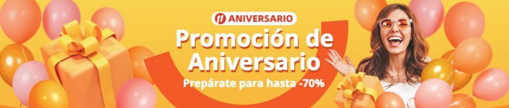 Última selección de productos del 11 aniversario de Aliexpress