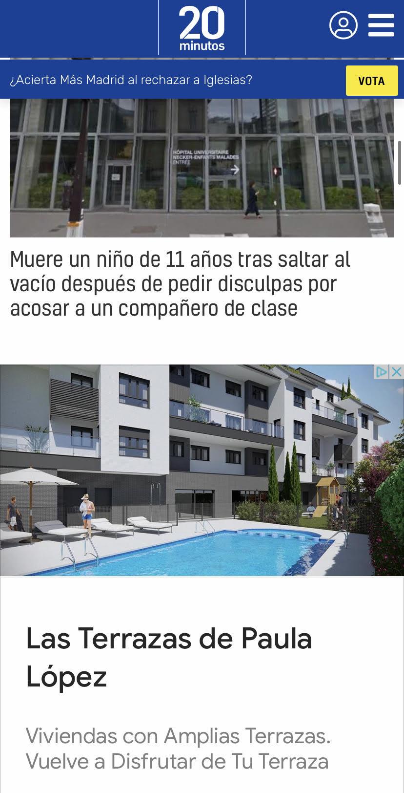 Las terrazas de Paula
