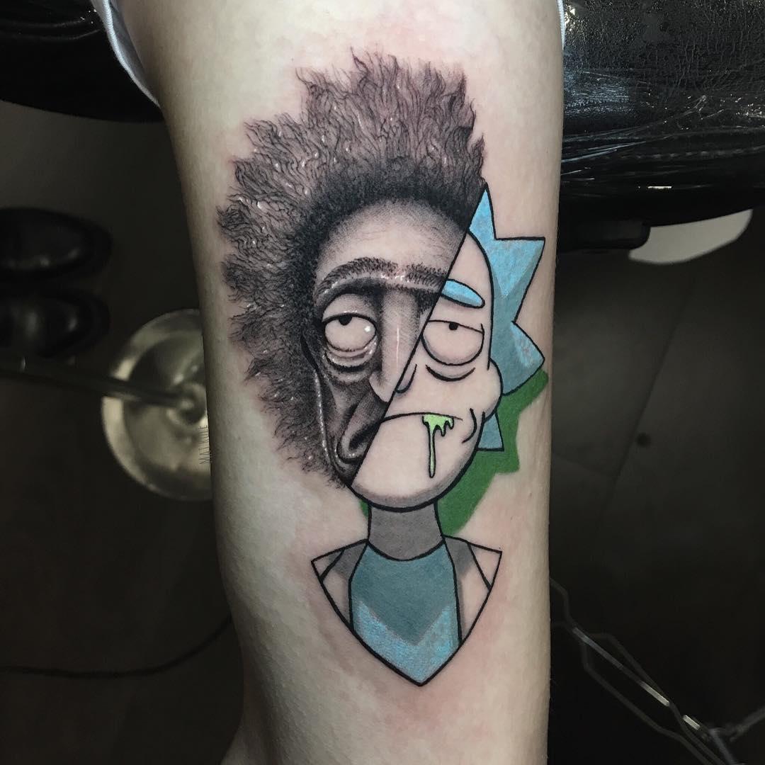 Mat Rule: el tatuador especializado en mezclar realidad y caricatura