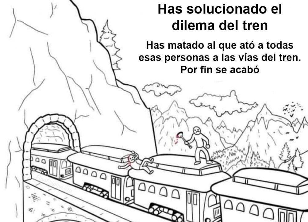 Dilema del tren solucionado