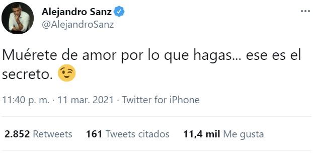 El plato preferido de Alejandro Sanz: Secreto ibérico