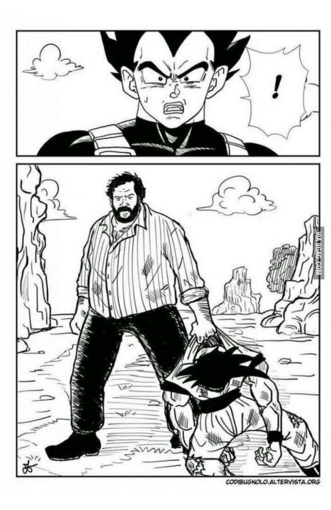 Todos comparando a Goku con Superman, cuando había un personaje mucho más poderoso...