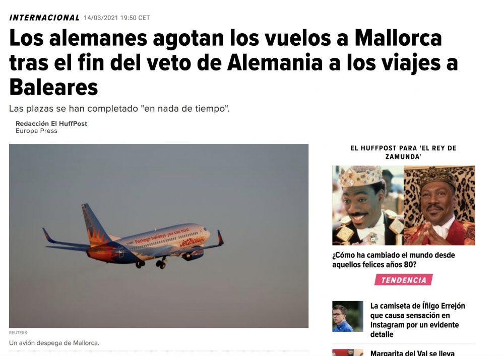 Un saludo a la gente de Mallorca
