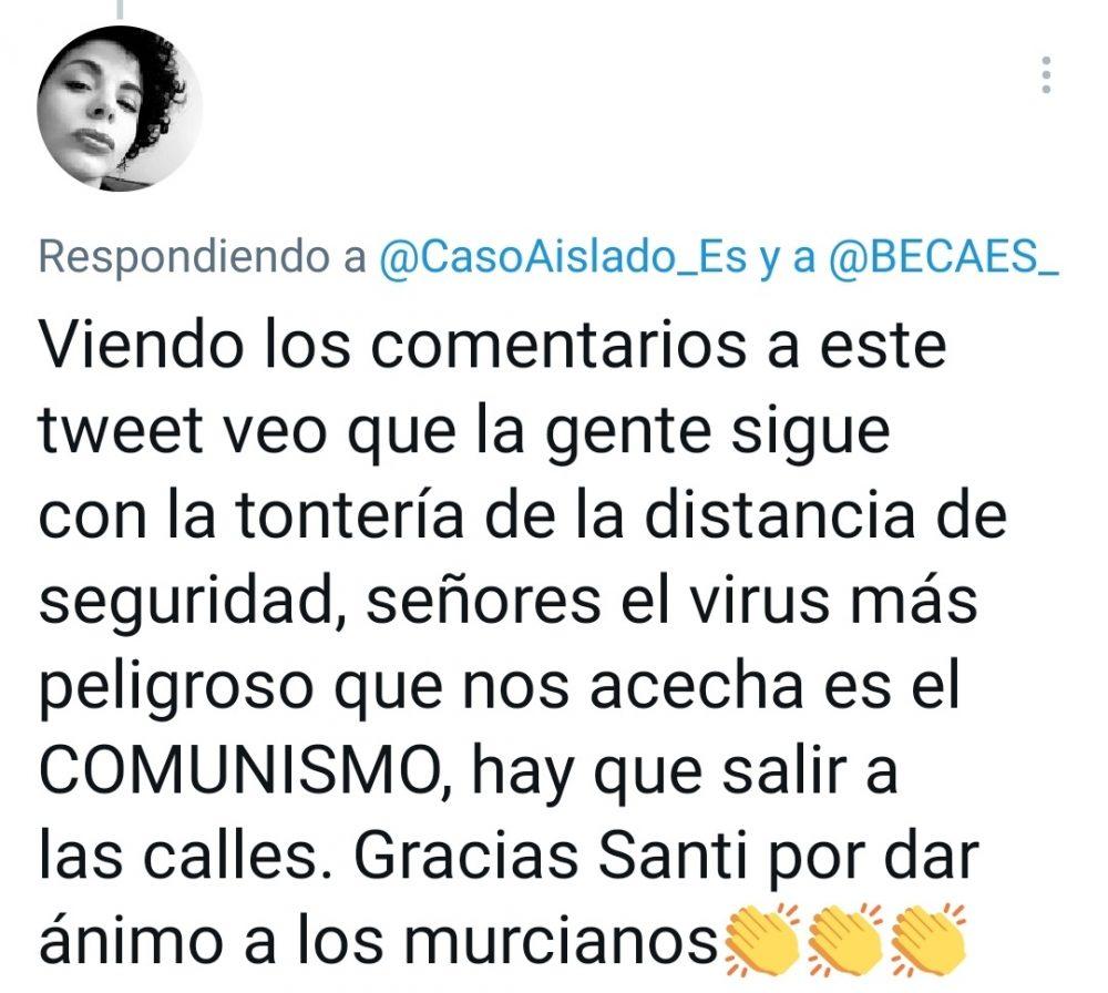 """""""El virus más peligroso que nos acecha es... EL COMUNISMO"""""""