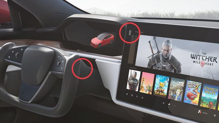 Tesla eliminará la palanca de marchas de sus coches y pasará el control a la pantalla táctil