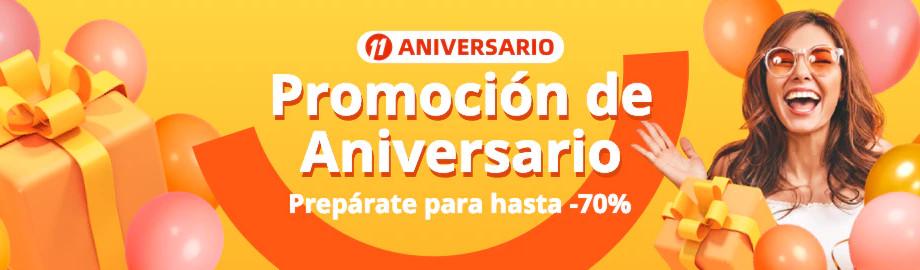 Empieza el 11 aniversario de Aliexpress