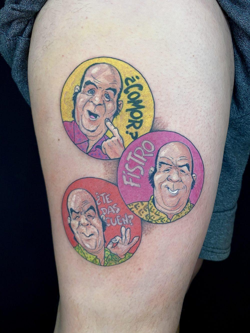 Echar de menos los 90 nivel: Tatuarte unos ChiquiTazos
