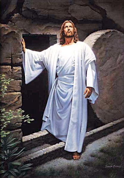 Jesús resucitando hace 2000 años: