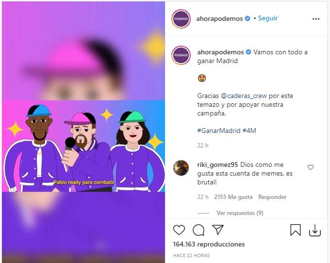 P.I. y la batalla de Madrid - El trap-reggaetón de Pablo Iglesias