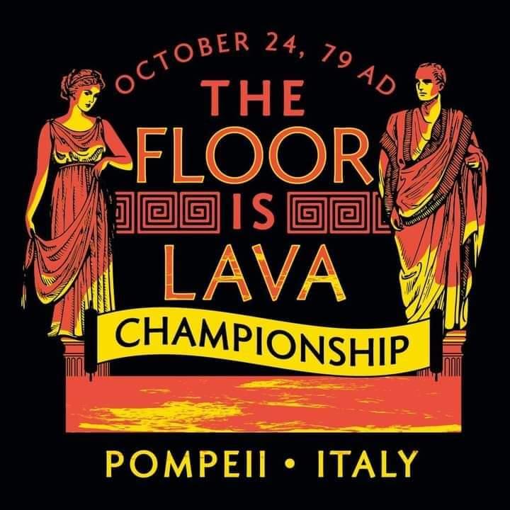"""El campeonato de """"el suelo es lava"""" más épico de la historia"""