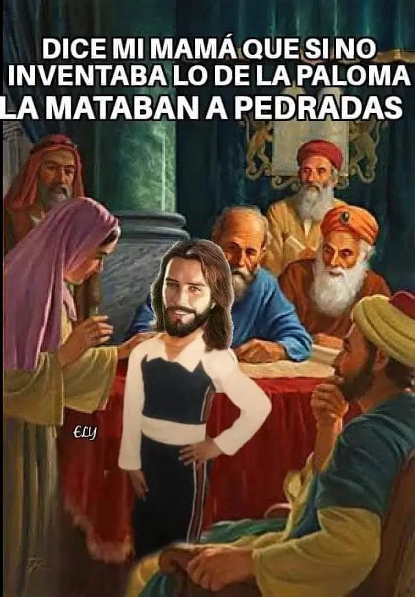 José estaba hasta los huevos de ser el cornudo de Nazaret
