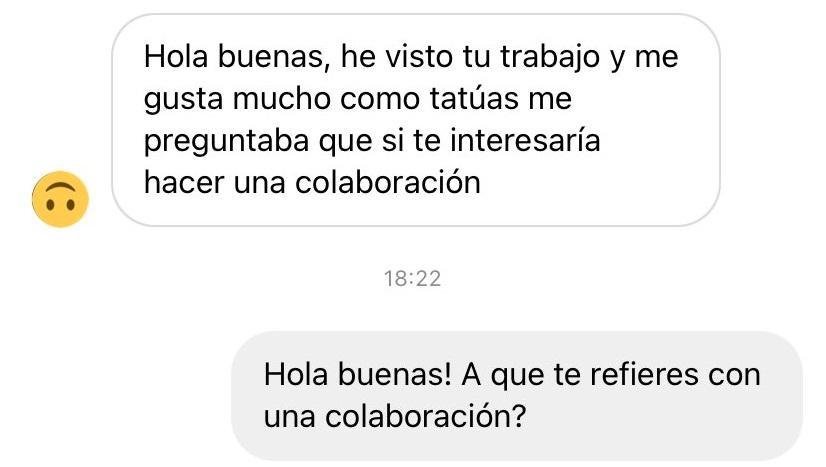 """La clásica """"colaboración"""""""