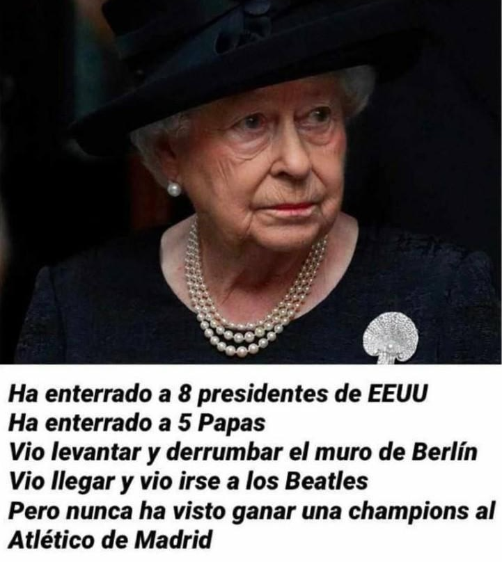 Increíble lo de la reina Isabel II