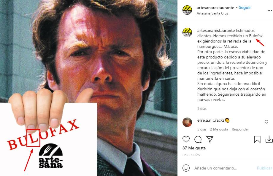 """Buloception: La """"retirada"""" de la famosa hamburguesa M.Bosé con salsa 5G contada por Espejo Público"""