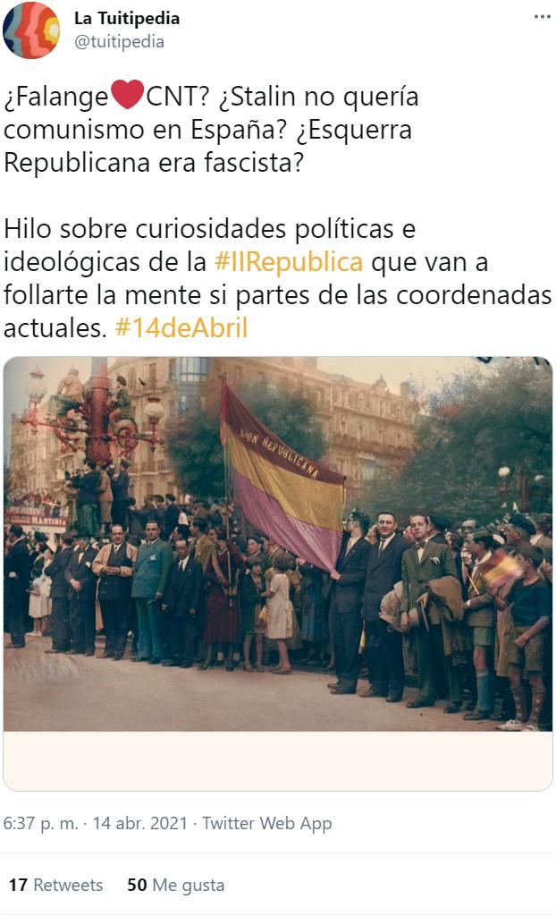 Curiosidades políticas de la II República que te dejarán con el cvlo torcido, o no tanto