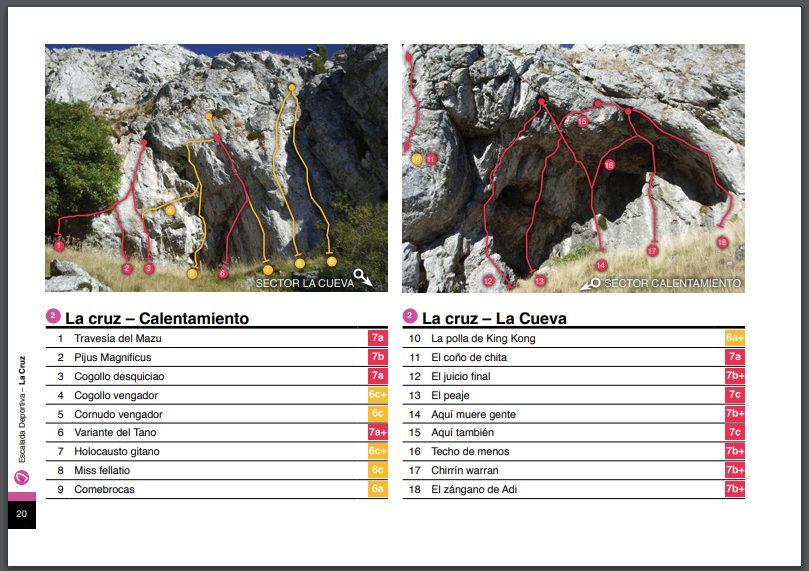 ¿Sabías que primero en subir una vía de escalada tiene el derecho a ponerle nombre?