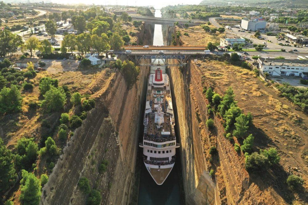 """Canal de Suez, Egipto: """"Oh no, un barco se ha cruzado y se ha quedado atascado"""""""