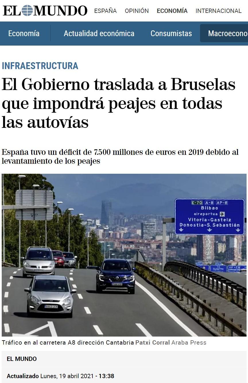 """2019: """"¡Buenas noticias chicos... algunas autopistas pasarán a ser gratuitas!"""""""